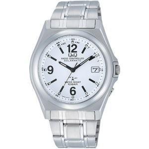 CITIZEN シチズン Q&Q 腕時計 HG08-204 ソーラー電源機能搭載電波時計|lamd