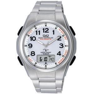 CITIZEN シチズン Q&Q 腕時計 MD02-204 ソーラー電源機能搭載電波時計|lamd