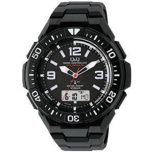 CITIZEN シチズン Q&Q 腕時計 MD06-305 ソーラー電源機能搭載電波時計|lamd