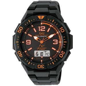 CITIZEN シチズン Q&Q 腕時計 MD06-315 ソーラー電源機能搭載電波時計|lamd