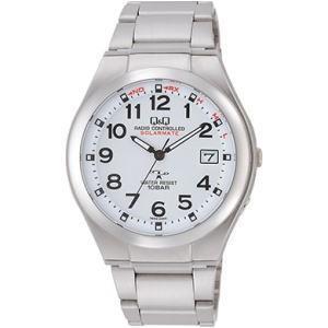 CITIZEN シチズン Q&Q 腕時計 HG12-204 ソーラー電源機能搭載電波時計|lamd