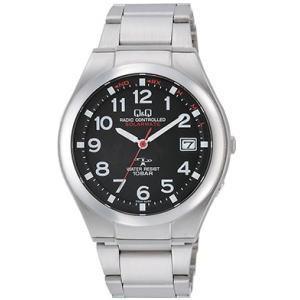 CITIZEN シチズン Q&Q 腕時計 HG12-205 ソーラー電源機能搭載電波時計|lamd