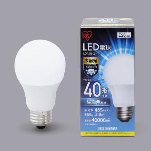 アイリスオーヤマ LED電球 E26 広配光 40形相当 昼白色 LDA4N-G-4T4 lamd