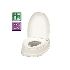 アロン化成 安寿 腰掛便座 簡易設置式洋式トイレ サニタリエース OD両用式 533-303 アイボリー|lamd
