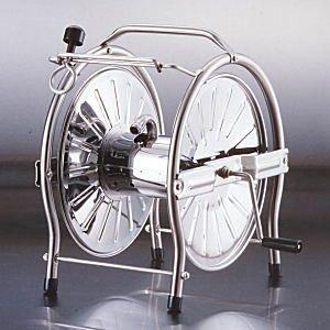 グリーンライフ  ステンレスホースリール [ドラム] 20〜25m巻用 SH‐S|lamd