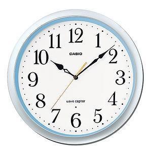 カシオ 壁掛時計 シルバー・ブルー IQ-480J-8JF|lamd