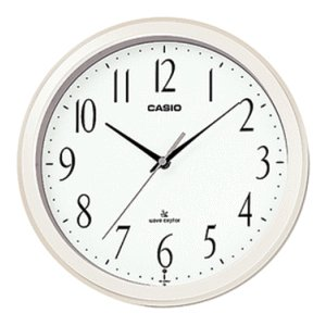 CASIO [カシオ] 掛時計 IQ-1060J-7JF パールホワイト 電波時計|lamd