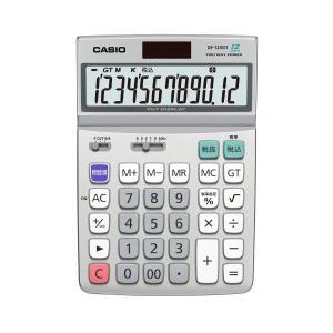 カシオ デスク型電卓 DF-120GT-N|lamd
