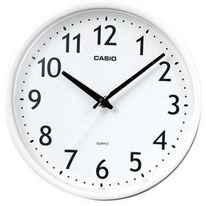 CASIO カシオ 壁掛け時計 IQ-58-7JF [IQ587JF] ホワイト|lamd