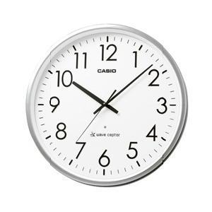 CASIO カシオ 電波時計 オフィス向け大型掛け時計 シルバー IQ-2000J-8JF [IQ2000J8JF]|lamd