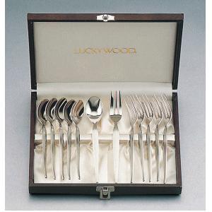 「送料無料」 小林工業 ラッキーウッド デラックスシリーズ 12pcティーケーキセット 5-01112-000|lamd