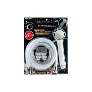●低水圧(低流量)対応用シャワーヘッド 動水圧0.05MPa、流量5L/分の条件で使用できます。  ...