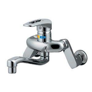 品名:シングルレバー混合栓品番192-311 ■特徴 ●給湯制限つきシングルレバー混合栓 ●省エネタ...
