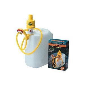 「10個まで1個口」これは便利!アウトドアポンプ A122ポンプシャワー!タカギ アウトドアシャワー「電池を使わない空気圧ポンプ」|lamd