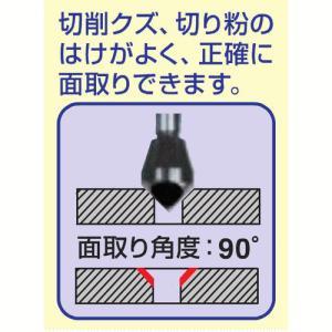 RELIEF プロ用精密面取りカッター 六角軸鉄工用 5〜10mm 27574|lamd|02