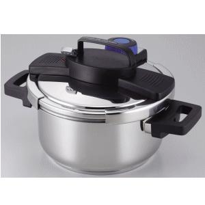 「送料無料」 パール金属 3層底ワンタッチレバー圧力鍋 4.0L H-5388 lamd