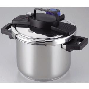 「送料無料」 パール金属 3層底ワンタッチレバー圧力鍋 5.5L H-5389 lamd