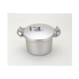 「送料無料」 北陸アルミ[ホクア]  業務用アルミ圧力鍋 21L [2.7升] lamd