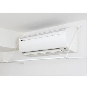 ◇エアコンの風を使って省エネ乾燥! エアコンにひっかけるだけの簡単設置   品番:ACH-1  カラ...