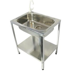 手軽に使える簡易流し台は軽くて丈夫で持ち運びに便利です。 ガーデニング・家庭菜園・ペットのシャンプー...