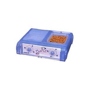 「送料無料」 YAMASA ヤマサ ペット自動給餌器 わんにゃんぐるめ クリアブルー CD-400 CBL [CD400 CBL]