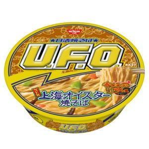 4箱まで1個口 日清焼そばU.F.O. 上海オイスター焼そば×12個[ケース販売] UFO lamd