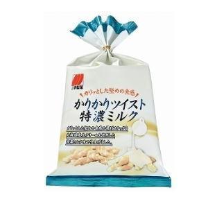 三幸製菓 かりかりツイスト 特濃ミルク 65g×12個[ケース販売]