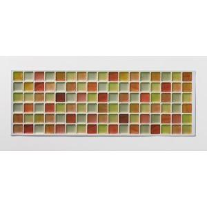 アール モザイクタイルシールクリア MT-004 オレンジ×4個[セット販売]|lamd