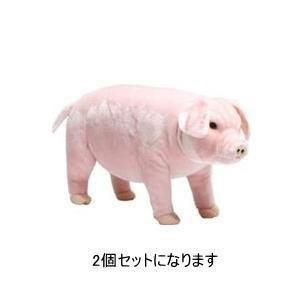 武田コーポレーション 座れる動物 アニマルシリーズ ブタ 5-SD45B 2個セット|lamd