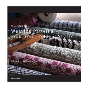 アシュフォード Weaving Patterns from 4 to 8 shafts 本【メール便可】 <手織り 紡ぎ 染め 本 ashford> lamerr