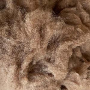キャメル 整毛100g <紡毛 紡ぎ 染め 羊毛 フェルト>|lamerr