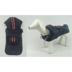 ネイビーレインコート【メール便可】 <犬服 ワンコ>|lamerr