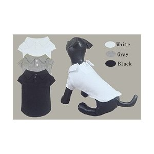 2つボタン付き半そでポロシャツ【メール便可】 <犬服 ワンコ>|lamerr