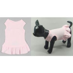 普段着のドレスなら このTドレス(ピンク・レッド・ブラック・ブルー・オレンジ)【メール便可】 <犬服 ワンコ>|lamerr