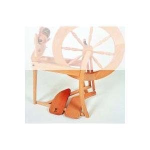 アシュフォード ダブルペダルキット エリザベス用 白木 <紡ぎ車 紡ぎ ashford>|lamerr
