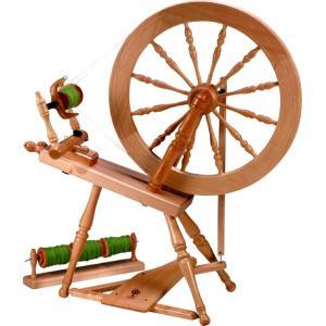 アシュフォード エリザベス紡毛機 白木 組立キット <紡ぎ 紡ぎ車 ashford>|lamerr