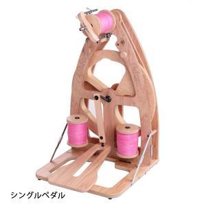 アシュフォード ジョイ紡毛機 バッグ付き ラッカー塗装 組立済み完成品 <紡ぎ 紡ぎ車 ashford>|lamerr
