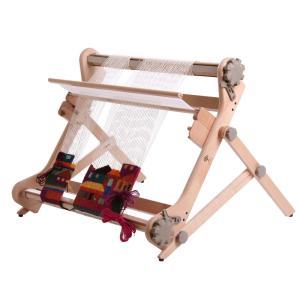 アシュフォード リジッドヘドル用テーブルスタンド 白木 <卓上 手織り機 ashford>|lamerr