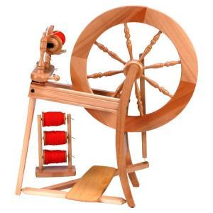 アシュフォード トラディショナル紡毛機 ラッカー塗装 組立キット <紡ぎ 紡ぎ車 ashford>|lamerr