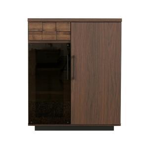 国産 デザイナーズ コルク 70カウンター  カウンターテーブル カウンター デスク キッチン キッチン収納 収納 食器棚 木製 電話台 下収納 ブラ|lamp