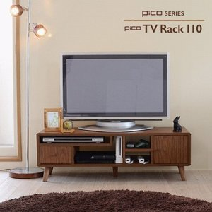 Pico series TV Rack W1100ひとり暮らし テレビ台 tv台 テレビボード tvボード テレビラック tvラック リビングボード 幅110 かわいい 収納 37イン lamp