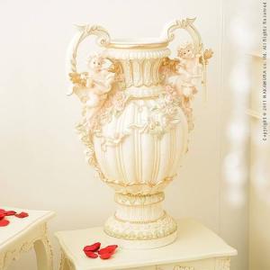エンジェルシリーズ Ange〔アンジェ〕 花瓶オブジェ(大) 天使 置物 姫系 インテリア lamp