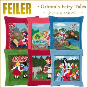 フェイラー クッションカバー 童話 フェアリーテイル 37cm×40cmの写真