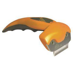 フーリー ペット用ブラシ オレンジ Sサイズ|lampeberger