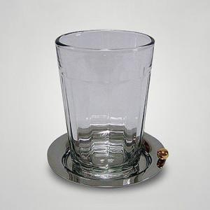 オイルランプ用 ガラスランプホルダー 「ストライプ」 50ccベーシックランプ専用|lampoil-store