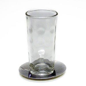 オイルランプ60ccベーシック専用 水玉ロング グラスキャンドルホルダー|lampoil-store