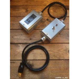 スイッチングパワータップ 配線器具 スイッチ コンセント スイッチ付きコンセント パイロットランプ付 インダストリアル|lamps1122
