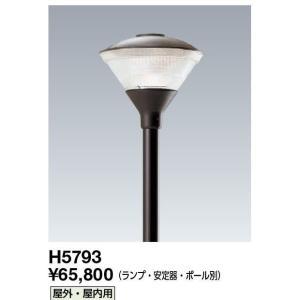 岩崎LED交換可能型 ライトバルブ適合  ポールライト(スタンダード) H5793 ポール挿入寸法:φ76.3×110mm|lamps