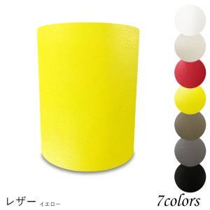 H16162-le 交換用ランプシェード ホルダー式 標準型 照明 シェードのみ 笠 傘  レザー(合皮PUレザー) 小さめサイズ|lampshade1949