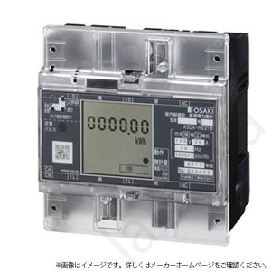大崎電気工業 A5DA-RS31 100V 30A 60Hz 西日本 単相2線式 A5DA-RS31100V30A 電力量計 コンパクトEM|lampya